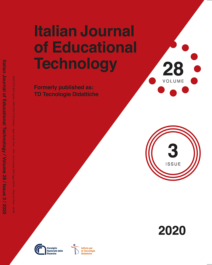 "IJET cover volume 28 issue 3 - Special Issue ""Promoting social inclusion through educational technology"""