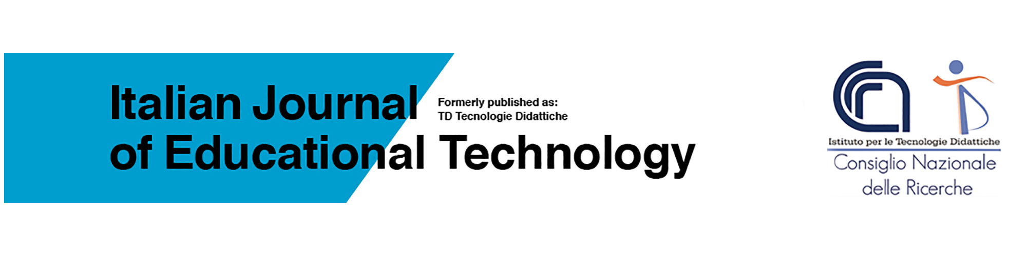 Italian Journal of Educational Technology - Cover pages